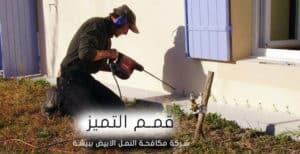 شركات مكافحة النمل الابيض ببيشة